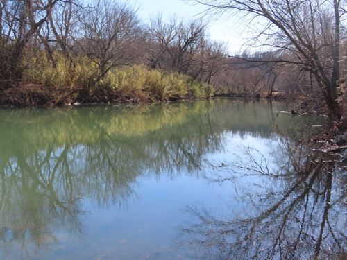 Waterfront Land For Sale in AR : Alpena : Boone County : Arkansas