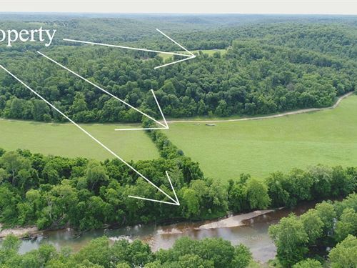 10 Acres On Niangua River : Lebanon : Laclede County : Missouri