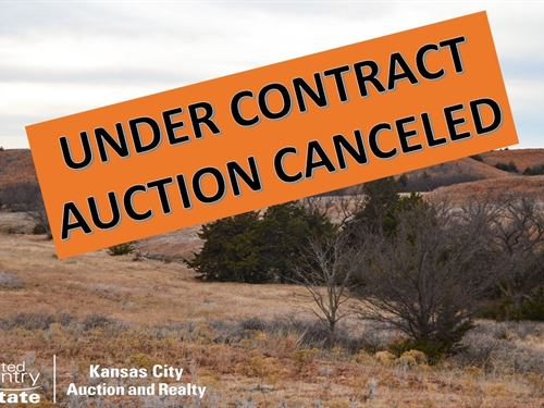 Hunting Pasture Land Online Auction : Sun City : Barber County : Kansas