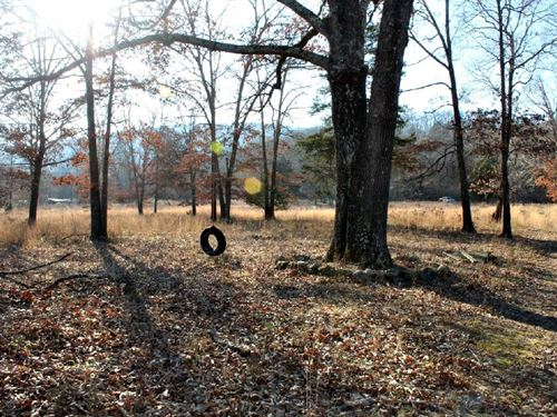 11 Acres With Water Power In Place : Mountain View : Stone County : Arkansas