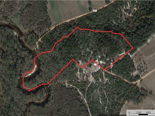 17 Acres Prime Recreational : Reidsville : Tattnall County : Georgia