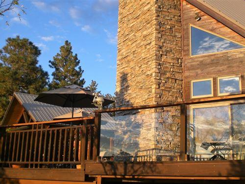 Custom Home, Guest Home 35 Acres : Trinidad : Las Animas County : Colorado