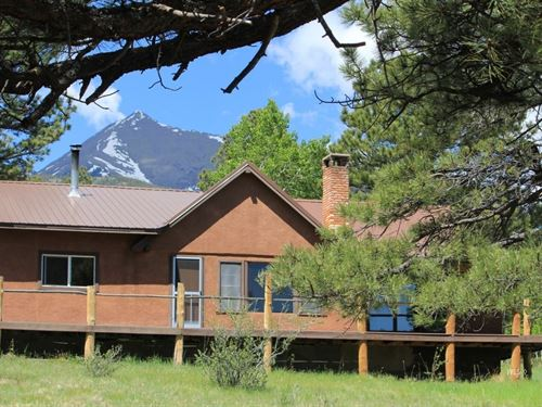 Mountain Home Colorado : Westcliffe : Custer County : Colorado