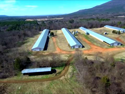Arkansas Poultry Farm : Hartford : Sebastian County : Arkansas