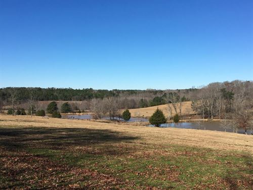 Beautiful Home Overlooking Pastures : Abbeville : South Carolina