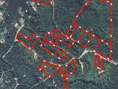 Lay Lake Subdivision Lots : Sylacauga : Coosa County : Alabama