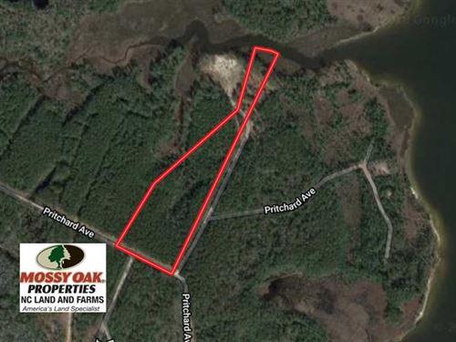 10 Acres of Creek Front Residentia : Havelock : Craven County : North Carolina