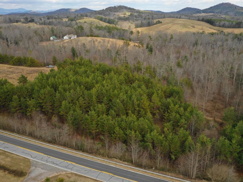 Wooded Private Peaceful Ranch For Sale Long Creek Oconee