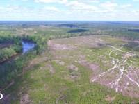 Cape Fear River Homesite : Kelly : Bladen County : North Carolina