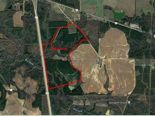 250.8 Acres Available : Elko : Houston County : Georgia