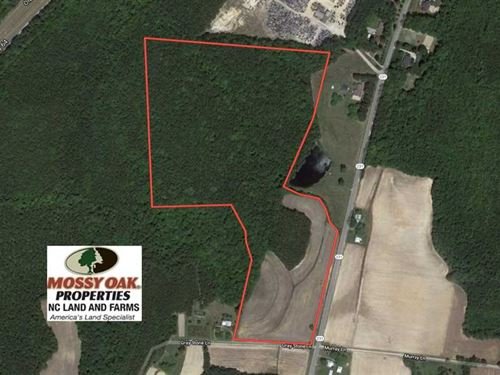 Under Contract, 46.3 Acres of Far : Spring Hope : Nash County : North Carolina