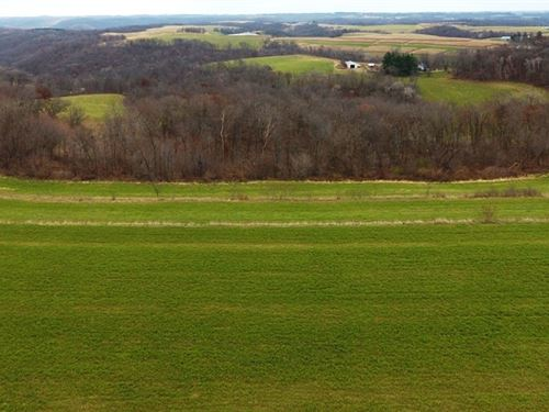 Vacant Parcel, Beautiful Views : Wauzeka : Crawford County : Wisconsin