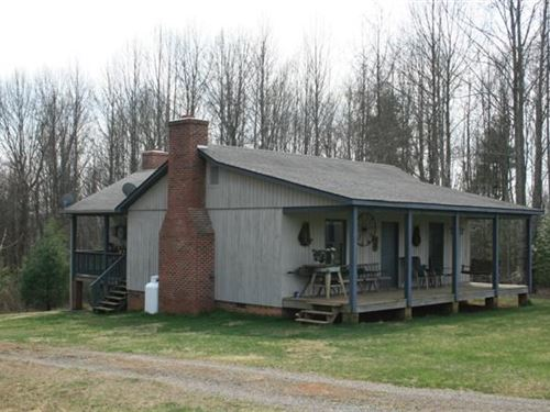 Home 11.96 Acres Located Carroll : Laurel Fork : Carroll County : Virginia