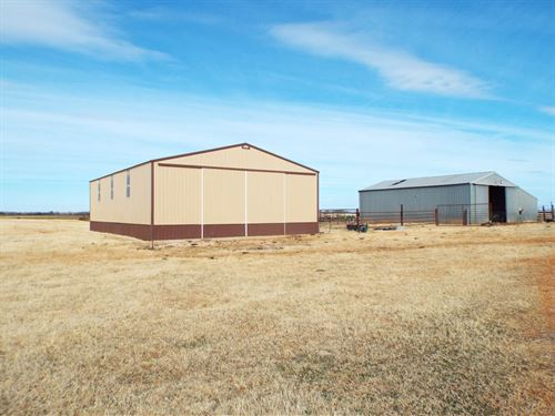 78 Acres Grass Pasture & Cropland : Edmond : Logan County : Oklahoma