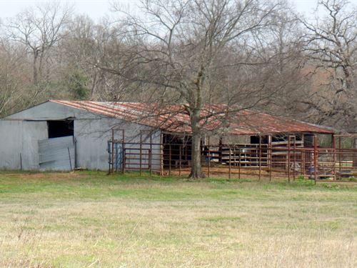45 East Texas Acres, 2 Homes : Yantis : Wood County : Texas