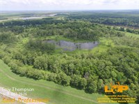 60.8 Acres Moreau Lake : Marksville : Avoyelles Parish : Louisiana