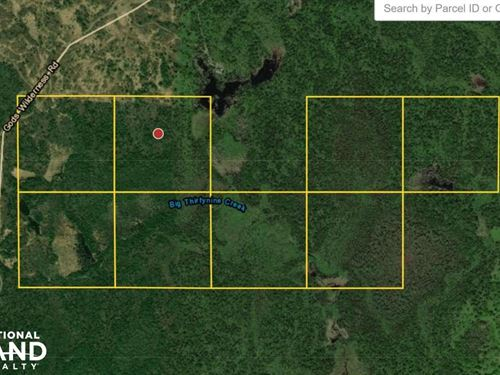 9 0 God's Wilderness Rd, 320 Acres : Finland : Lake County : Minnesota