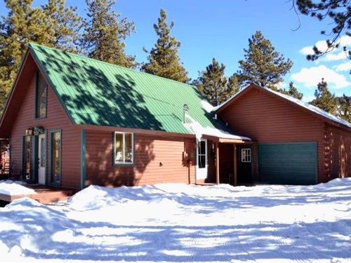 Dancing Trout Cabin : Florissant : Park County : Colorado
