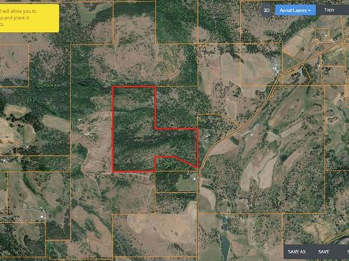 Eastern Oregon Timber Pasture Land : Elgin : Union County : Oregon