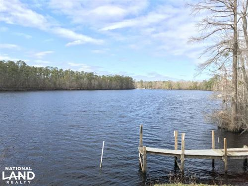 Cape Fear River Homesite & Hunting : Rocky Point : Pender County : North Carolina