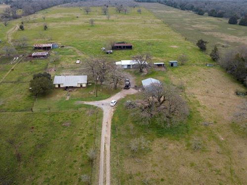54 Farming Homestead : Madisonville : Madison County : Texas