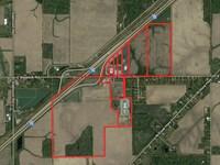 190+/- Acres Plus Com & Ind Bldgs : Lima : Allen County : Ohio