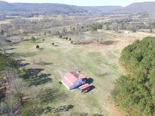 55 Acre Barndominum, Pleasure Farm : Steele : Saint Clair County : Alabama