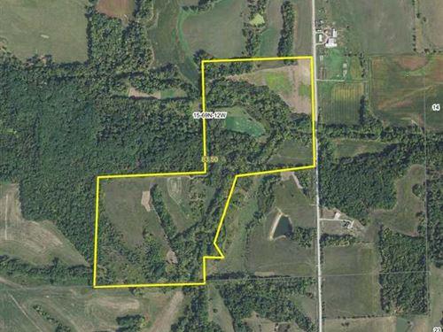 83.5 Acres Great Hunting Farm in : Bloomfield : Davis County : Iowa