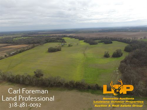 100 Acres Evergreen Avoyelles : Evergreen : Avoyelles Parish : Louisiana
