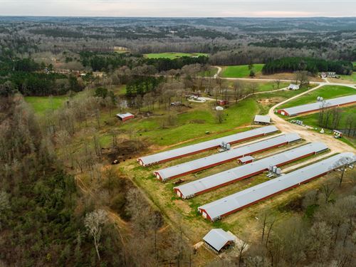 7 House Broiler Farm, Home & More : Franklin : Heard County : Georgia