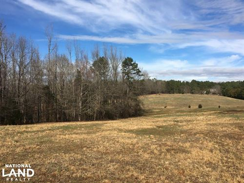 Horse Property With Open Land & Har : Easley : Anderson County : South Carolina