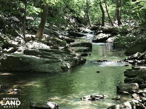 68 Acres Wilson Creek Property : Rupert : Van Buren County : Arkansas