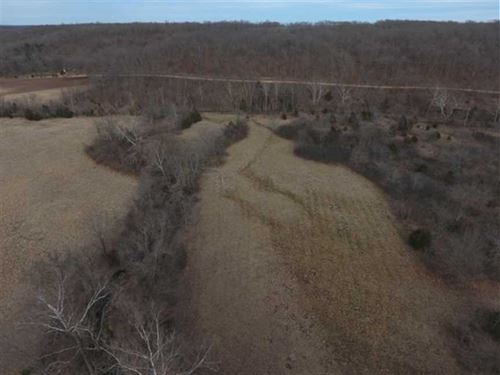 123 Acre Great Hunting Tract With : Climax Springs : Camden County : Missouri