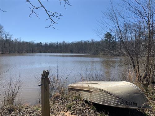 Grove Creek Farm And Reservoir : Maysville : Banks County : Georgia