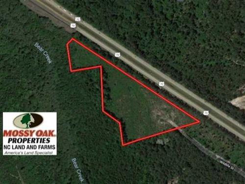 11.34 Acres of Residential And Hun : La Grange : Lenoir County : North Carolina