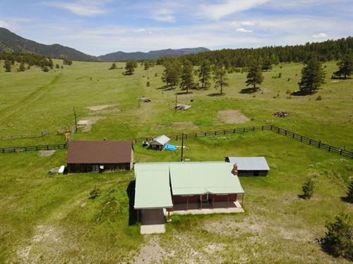Old Homestead Ranch Custer County : Westcliffe : Custer County : Colorado