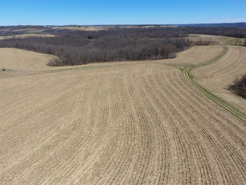 Hunting Property W/Income Potential : Prairie Du Chien : Crawford County : Wisconsin