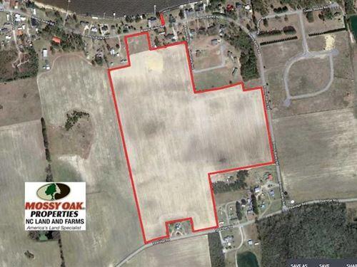 56 Acres of Farm And Residential : Roper : Washington County : North Carolina