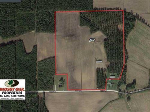 Under Contract, 59.14 Acres of Fa : Chadbourn : Columbus County : North Carolina