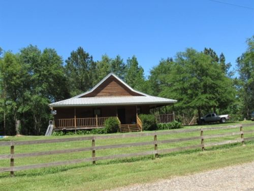 Home On 58.58 Acres : Prentiss : Jefferson Davis County : Mississippi