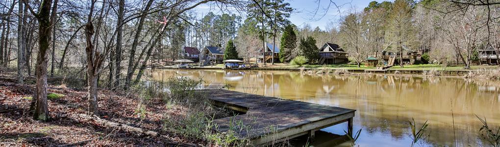 Crooked Creek Preserve Lake : Eatonton : Putnam County : Georgia