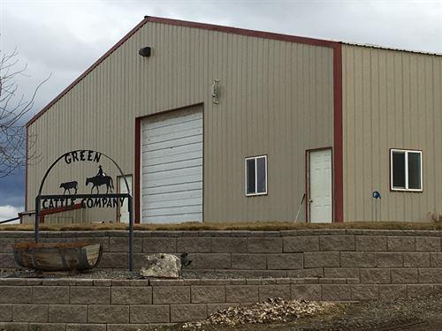 6000 Hd Central Oregon Feedlot : Madras : Deschutes County : Oregon