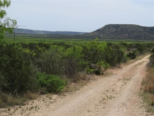 33.94 Acres, Electric : Robert Lee : Coke County : Texas