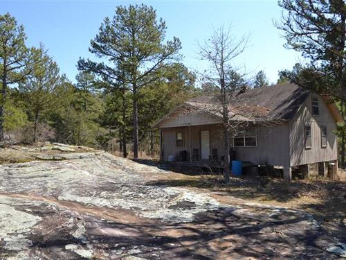 39 Acres With 864 Sq, Ft, Off : Calico Rock : Izard County : Arkansas