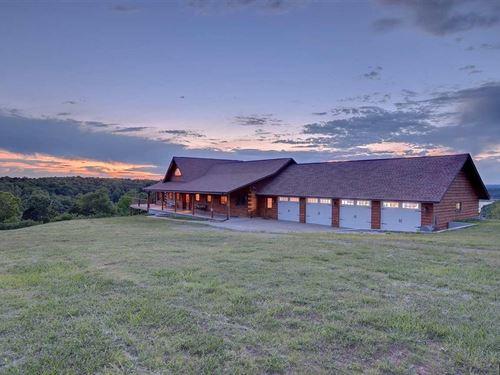 Lake Front Home Near Yellville AR : Yellville : Marion County : Arkansas