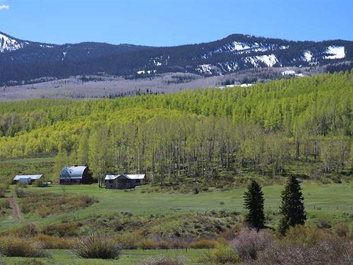 Pyramid Peak Ranch : Hayden : Rio Blanco County : Colorado