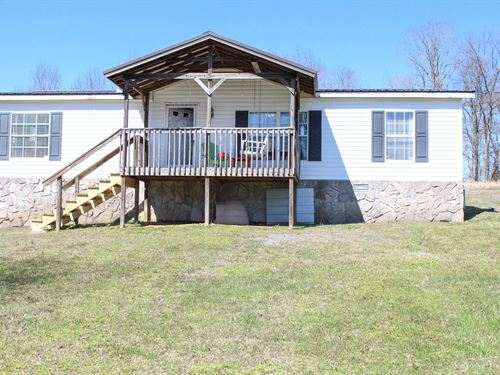 Manufactured-Mobile Home Acreage : Mount Pleasant : Maury County : Tennessee