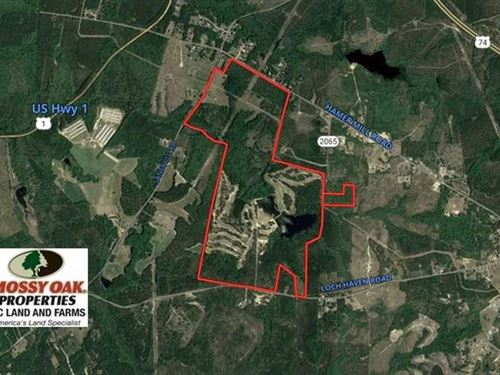 434 Acre Golf Course For Sale in : Rockingham : Richmond County : North Carolina