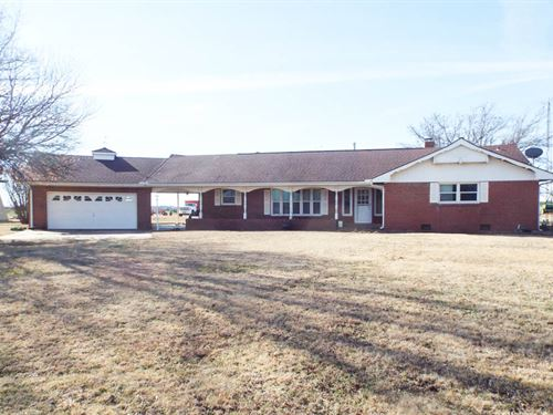 Home 5 Acres, 155 Acres & Minerals : Garber : Garfield County : Oklahoma