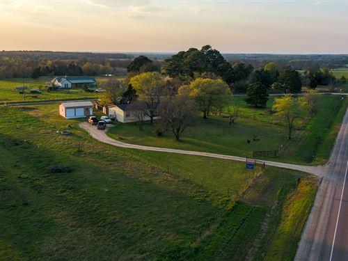 10.64 Acres With Modular Home : Cameron : Milam County : Texas